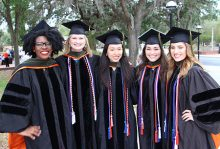 UF College of Pharmacy celebrates nearly 400 graduates in the class of 2017