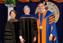 Dr. Robert Crisafi, '56, receives one of UF's most prestigious alumni honors