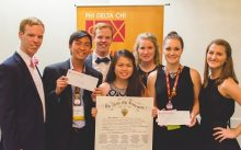 Phi Delta Chi pharmacy fraternity earns several national awards at Grand Council meeting