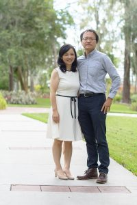 Yu-Jung (Jenny) Wei, Ph.D., an assistant professor in the department of pharmaceutical outcomes and policy in the UF College of Pharmacy and her husband, Ting-Yuan (David) Cheng, Ph.D., an assistant professor in the department of epidemiology in the UF College of Public Health and Health Professions and the UF College of Medicine, are both recipients of prestigious National Institutes of Health-funded Career Development Awards, or K awards