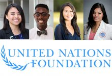 Four UF pharmacy students among the inaugural 100 UN Foundation Global Health Fellows
