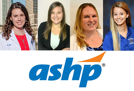 Four St. Petersburg students appointed to national ASHP advisory groups